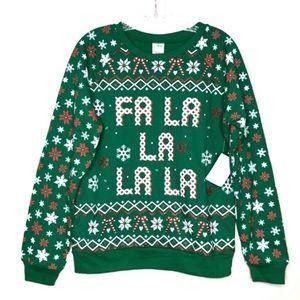 Freeze Fa La La La La Ugly Christmas Sweater